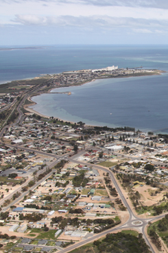 Aeiral photo of Ceduna